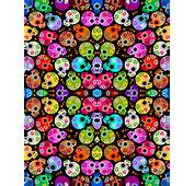 Skull Fabric Wallpaper Gift Wrap And Decals  Spoonflower HTML Code