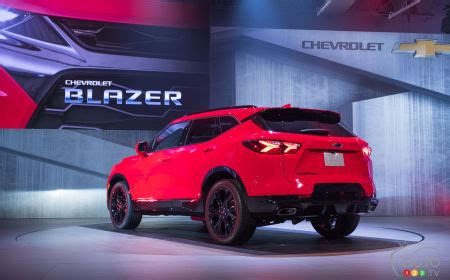 chevrolet presents a revived but transformed blazer | car