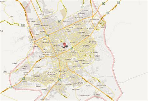 map of riyadh city riyadh map