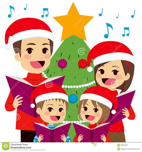villancicos de la navidad del canto de la familia