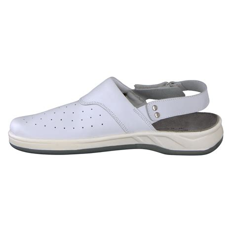 white clogs for wellness comfort clogs greg for work esd white for