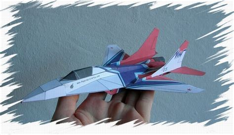 3d Origami Airplane - flyable modern jets realistic 3d paper airplane models