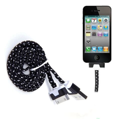 Iphone Braided strong braided usb data sync charger cable for iphone 4 4s 3g 3gs 2 ipod ebay