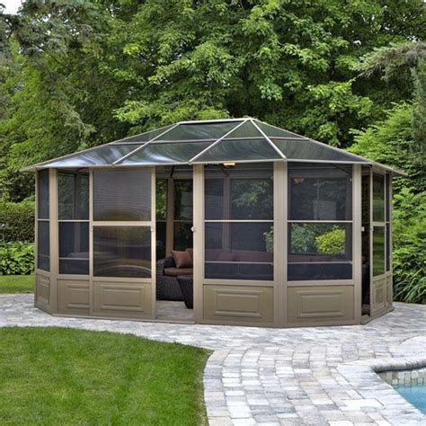 gazebo penguin gazebo penguin 41215 15 5 ft x 12 ft all seasons solarium
