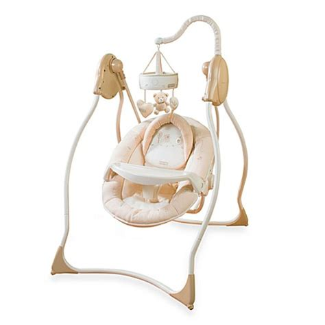 summer baby swing nature s purest 174 hug me swing by summer infant 174 buybuy baby