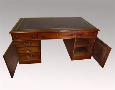 partners desk for sale antique mahogany partners desk for sale