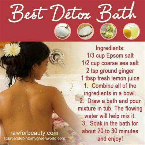 Shower After Detox Bath by Best Detox Bath Beautytricks