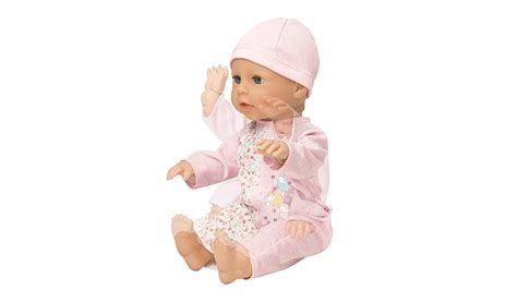 annabell george doll baby annabell walk doll george at asda