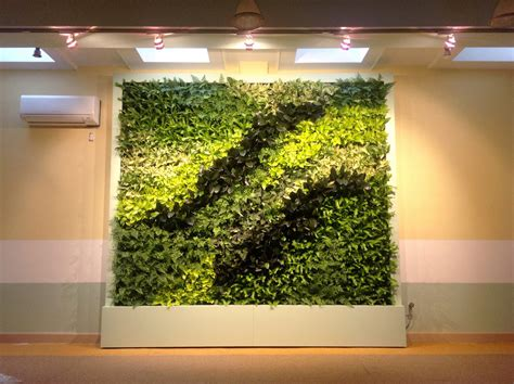 Interior Living Wall Plants Indoor Green Wall With Amazing Pattern Of The Plants