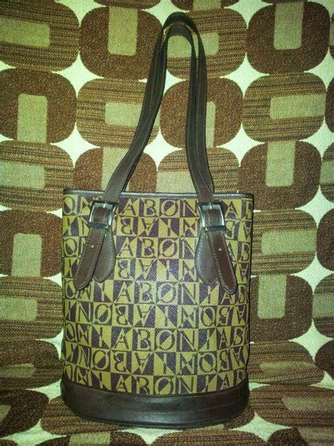 Tas Bonia Original Serut Monogram Sz tripbundle authentic bonia monogram handbag