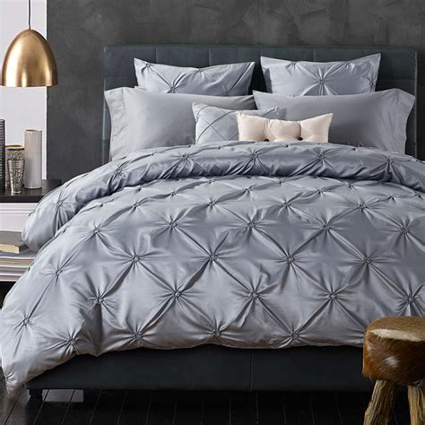 popular grey satin comforter buy cheap grey satin