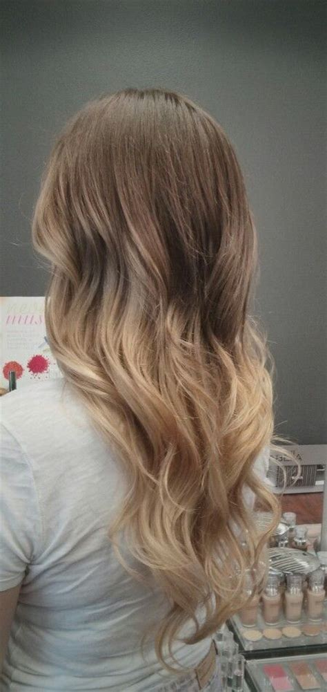 pictures of brown to blonde ombres brown to blond ombre steeze pinterest