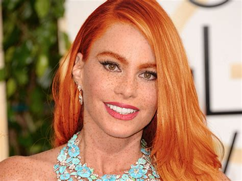 australian actress with red hair the woman behind the tumblr that turns celebrities into