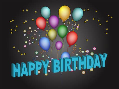 Plakat Geburtstag by Birthday Poster Vector Graphics Freevector