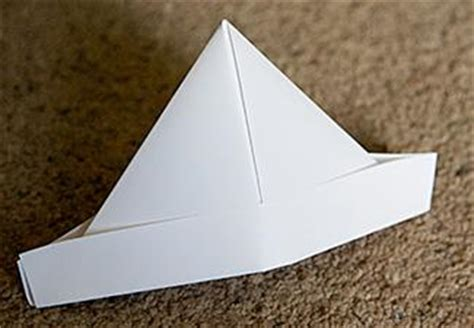 How To Make An Origami Pirate Hat - pirate crafts