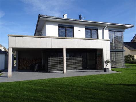Einfamilienhaus Mit Doppelgarage Modern by Neubau Eines Einfamilienhauses Mit Doppelgarage Sowie