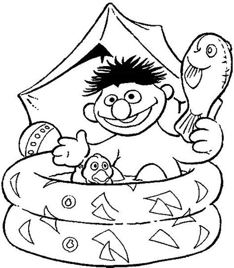 Coloring Pages Bert And Ernie Picture 24 Bert And Ernie Coloring Pages
