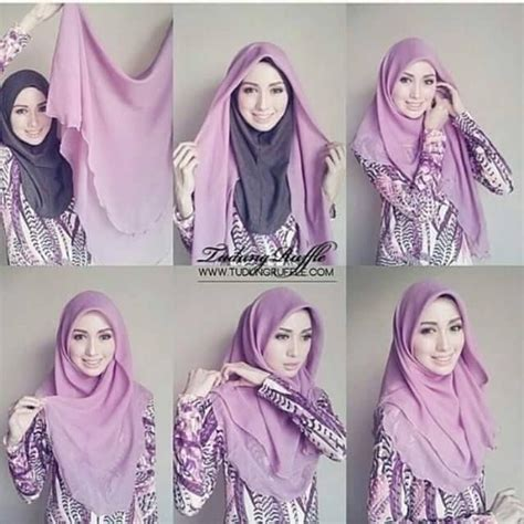 Jilbab Square Segiempat Kekinian Ori By 30 best images about styles on simple and simple tutorial