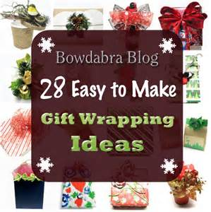 Cool Wrap Gift Bags - 28 creative diy christmas gift wrapping ideas bowdabra blog