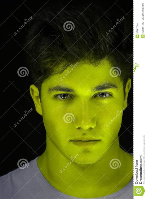 Skin With Green green skin stock images image 37167744