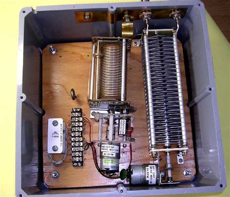 remote tuning capacitor remote antenna tuner