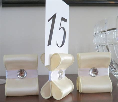 diy table card holders table number holders wedding decor set of ten 10