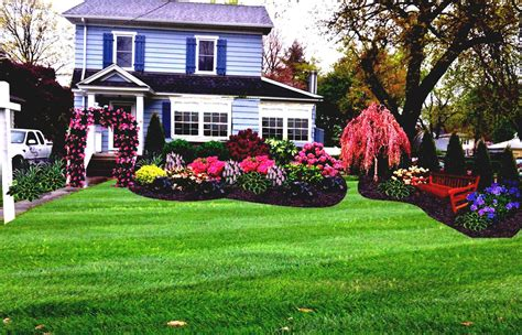 home yard simple front yard desert landscaping with gravels and