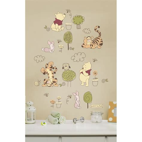 winnie the pooh stickers for walls winnie the pooh wall decals