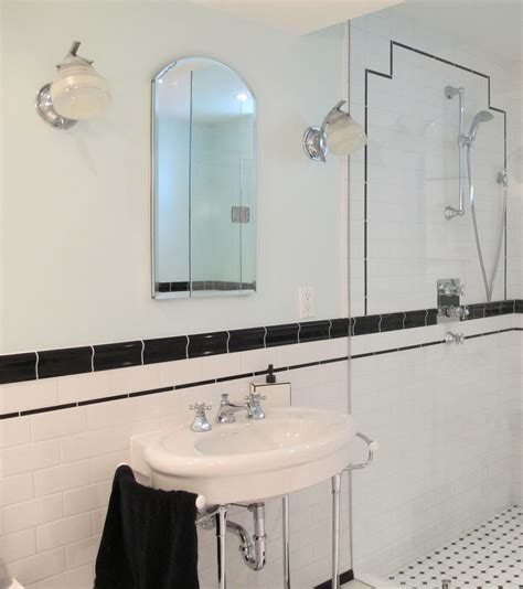 Art Deco Bathroom Ideas Finishing Touches Deco Lighting Deco Bathroom