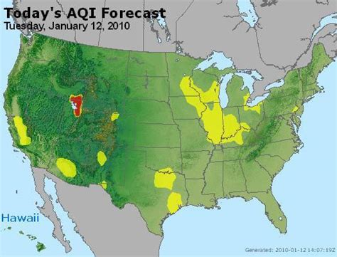 air pollution map america patient exposure and the air quality index ozone and