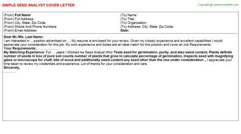 technical support analyst cover letter cost analyst cover letters