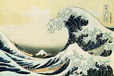 fiori ascii la gran ola de kanagawa