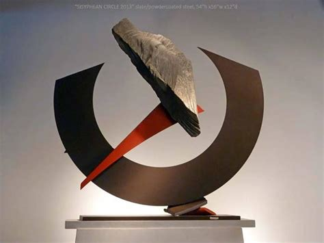 John Van Alstine   Sisyphean Circle 2013, Sculpture For
