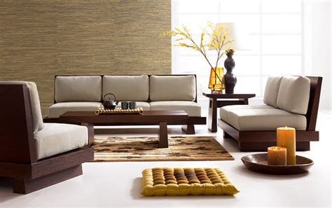 Furniture For Living Room Design Modern Wooden Sofa Designs