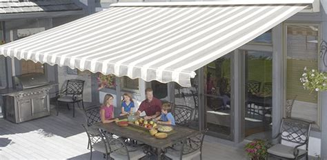 Sunsetters Retractable Awnings by Costco Sunsetter Manual Retractable Awnings