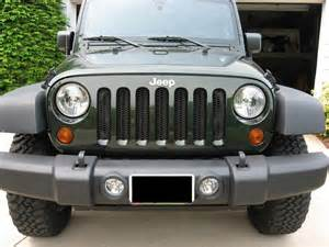 Jeep Grills Jk Grill Mod Mesh Grill Modification For Jk Jeep Wrangler