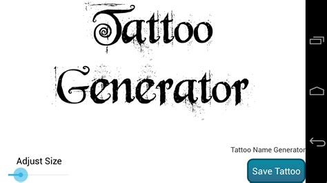 tattoo idea generator name creator elaxsir