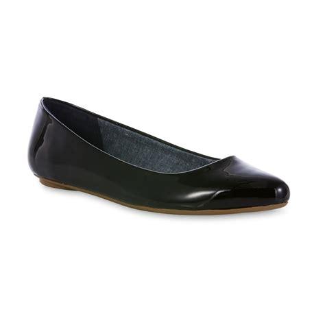 dr scholls flat shoes dr scholl s s really black memory foam flat wide