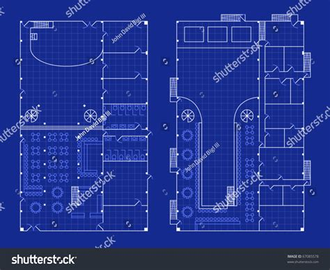 nightclub floor plans floorplan for a nightclub with stage and bar in blueprint
