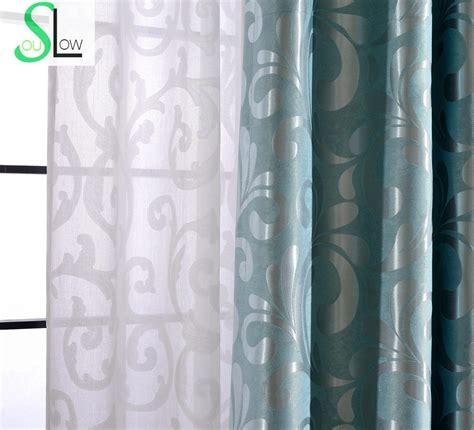 curtain top types simple jacquard black physical silk shade curtain curtains