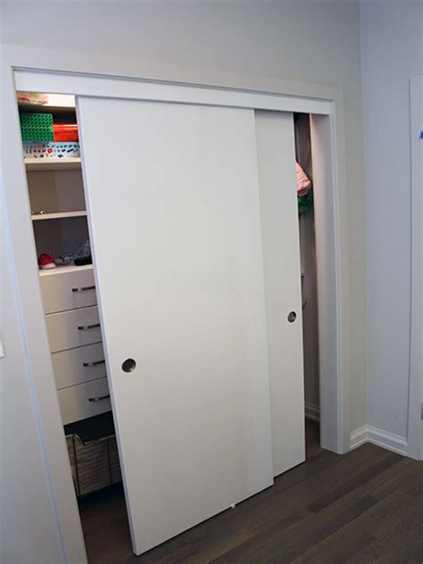 Reach In Closet Sliding Doors Roselawnlutheran Closets Sliding Doors