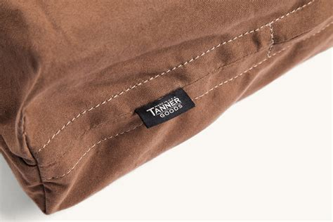 canvas dog bed canvas dog beds from tanner goods dog milk