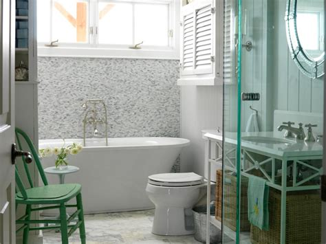 6 bathroom tile design ideas to add style color cottage bathrooms hgtv