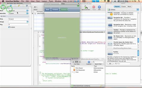 xcode uiwebview tutorial xcode tutorial uiwebview using an activity indicator on