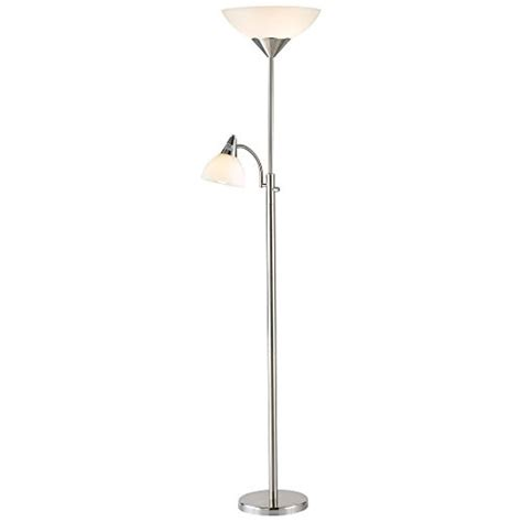 Adesso Piedmont Combo Floor L by Adesso 7202 22 Piedmont 71 Quot Torchiere With Adjustable