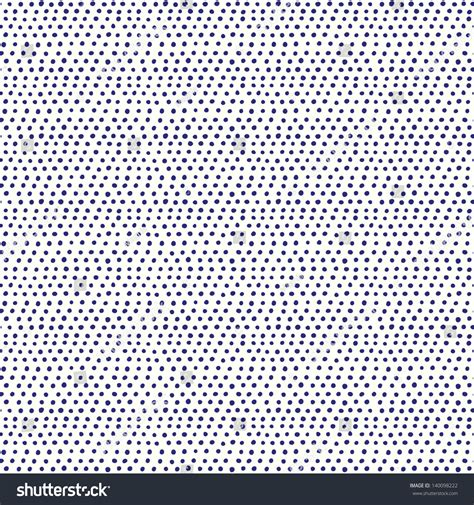 seamless pattern en francais seamless hand drawn pattern with blue dots vector