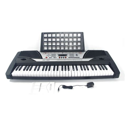 Keyboard Mk 980 mk 980 61 touches clavier d imitation piano clavier 233 lectronique multifonction piano noir fr