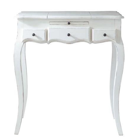 Formidable Maison Du Monde Coiffeuse #1: coiffeuse-en-bois-blanche-l-70-cm-mathilde-1000-15-18-117196_1.jpg