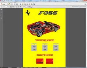 F355 Workshop Manual Workshop Manual F355 Workshop Manuals