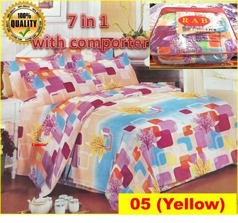 Bantal Set Baby 4pc Set cadar set 7 in 1 with comforter end 8 31 2020 9 40 pm